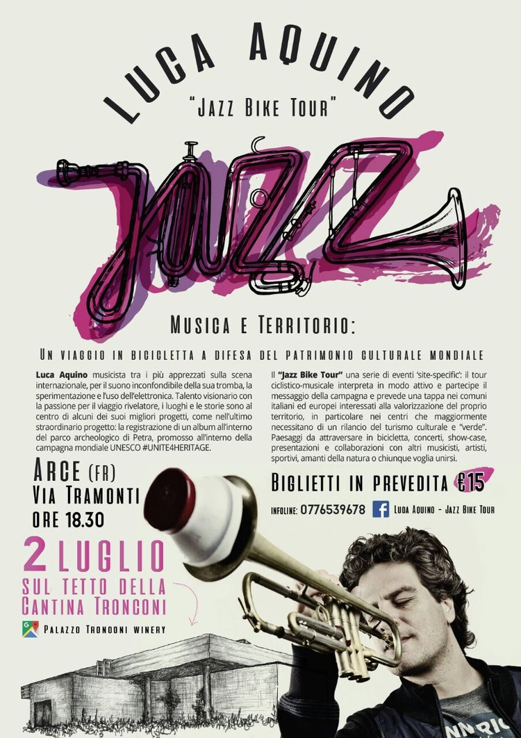 An evening of Jazz and Wine in Italy